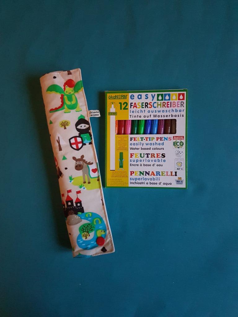 coloriage zéro déchet